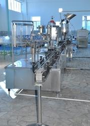 Линия по производства напитков и воды.