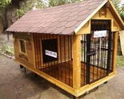 Мини - домики для собак. Будки,  вальеры,  на заказ в Ташкенте
