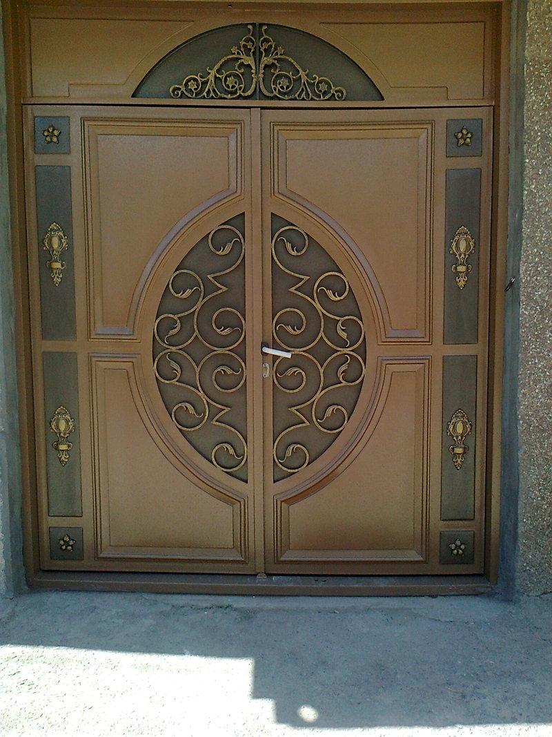 Металлические двери покраска