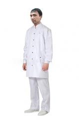 Оптом: Медицинский халат для мужчин укороченный
