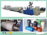Экструзионная линия для труб ПВХ канализации Ф16-800мм