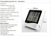 Высокоточный электронный Гигрометр-термрметр