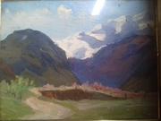 хочю продать или оценить картину. Она была подарина моему деду........