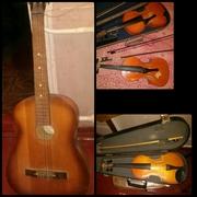 Скрипки и гитару продам