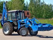 Экскаватор-погрузчик на базе трактора МТЗ-82.1