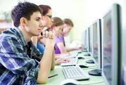 «Компьютерные курсы» от месяца до трех.
