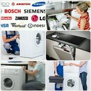 УСТАНОВКА И ПОДКЛЮЧЕНИЕ— стиральных,  посудомоечных машин. ☎ (90) 941-62-41