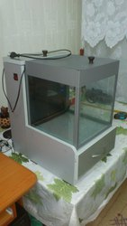 Мини-аквариум с тумбочкой (полный комплект).