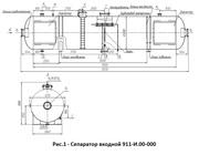 Аппараты для сепарации нефти с газовым фактором до 1500  м куб/м куб