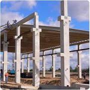 Оборудование для производства бетонных колонн большой длины.Ташкент