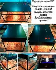 Террариум модель № 1 c у/ф лампой и лампой накаливания.