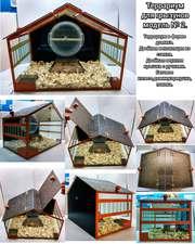 Террариум для грызунов модель № 2 (в форме дома).