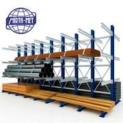 Консольные стеллажи для склада в Ташкенте