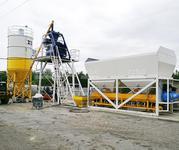 Стационарный Бетонный завод СКИП-45