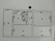 Ц-15 по улице Абая (Казахское посольство) 3х/2/4 - 80 кв.м