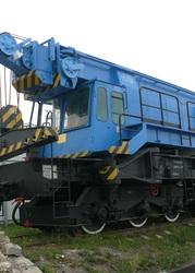 Кран ЕДК-300/5 железнодорожный