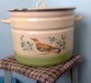Продам новую эмалированную  посуду