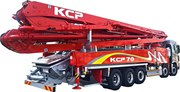 Автобетононасос KCP70ZS170 на базе шасси Hyundai Xcient (520 л.с.)
