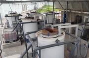 Установка электрохимического обесцвечивания красильных стоков
