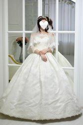Продаётся нежное классическое свадебное платье